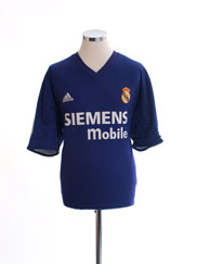 2001-02 Real Madrid Centenary Third Shirt XL