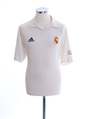 2001-02 Real Madrid Centenary Home Shirt M