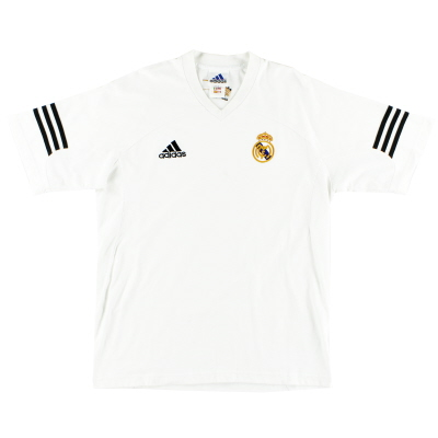 2001-02 Real Madrid Centenary Training Shirt S