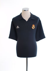 2001-02 Real Madrid Centenary Away Shirt L