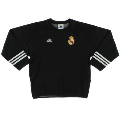 2001-02 Real Madrid adidas Centenary Training Jumper Y