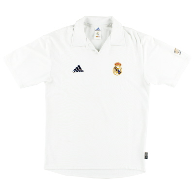 2001-02 Real Madrid Centenary Home Shirt L