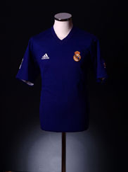 2001-02 Real Madrid Third Shirt XL