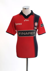 2001-02 Rennes Home Shirt XS