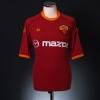 2001-02 Roma Home Shirt Totti #10 S