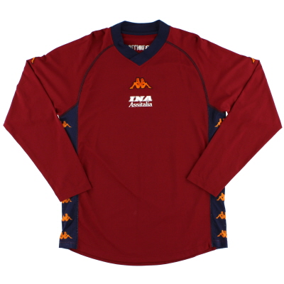 2001-02 Roma Kappa Training Shirt L