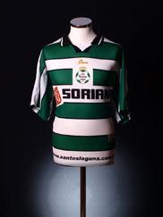 2001-02 Santos Laguna Home Shirt L