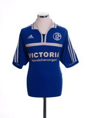 2001-02 Schalke Home Shirt L