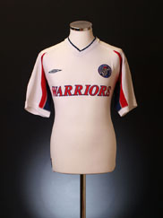 2001-02 Singapore Armed Forces Away Shirt M