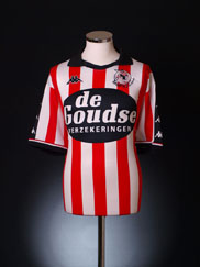 2001-02 Sparta Rotterdam Home Shirt XXL