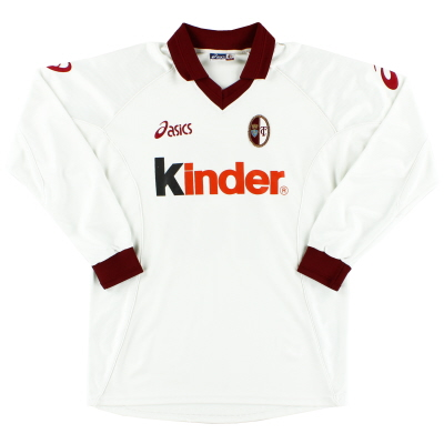 2001-02 Torino Player Issue Away Shirt #13 L/S L