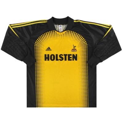 2001-02 Tottenham adidas Goalkeeper Shirt L/S XL