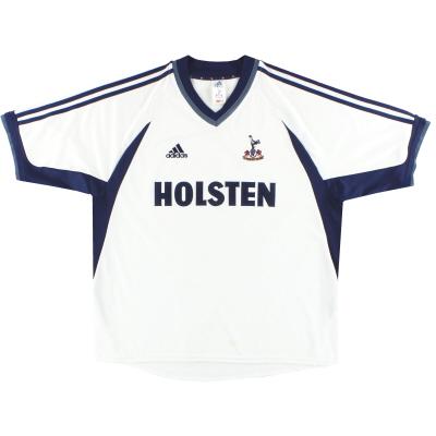 2001-02 Tottenham adidas Home Shirt L