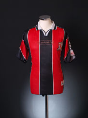 2001-02 Trinidad & Tobago Home Shirt L