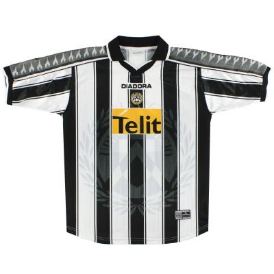 2001-02 Udinese Diadora Home Shirt *Mint* XL
