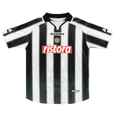 2001-02 Udinese Home Shirt XL