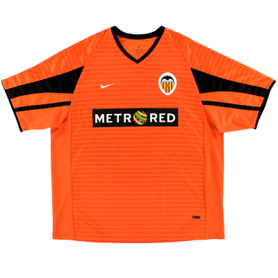2001-02 Valencia Nike Away Shirt *Mint* L
