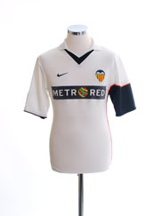 2001-02 Valencia Home Shirt XS