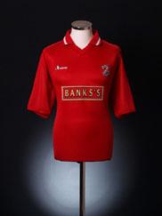 2001-02 Walsall Home Shirt M