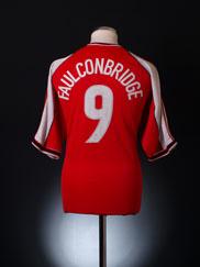 2001-02 Wrexham Home Shirt Faulconbridge # 9 XL
