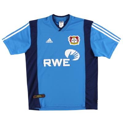 2001-03 Bayer Leverkusen adidas Away Shirt L