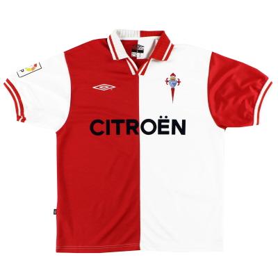 2001-03 Celta Vigo Umbro Away Shirt L