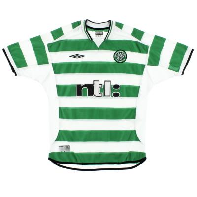 2001-03 Celtic Home Shirt XXL
