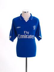 2001-03 Chelsea Home Shirt M
