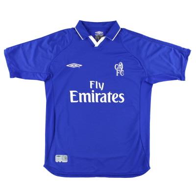 2001-03 Chelsea Umbro Home Shirt M