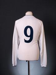2001-03 England Home Shirt #9 L/S XL