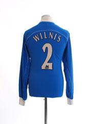 2001-03 Ipswich Home Shirt Wilnis #2 L/S M