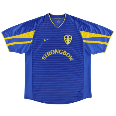 2001-03 Leeds Nike Away Shirt S