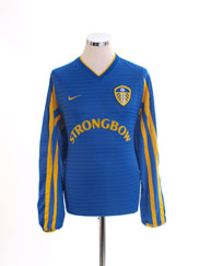2001-03 Leeds Away Shirt L/S M