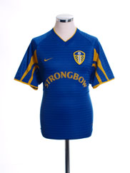 2001-03 Leeds Away Shirt L