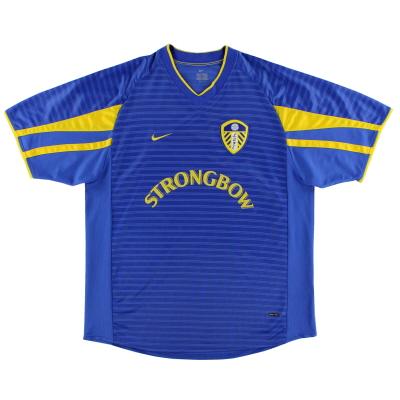 2001-03 Leeds Nike Away Shirt M