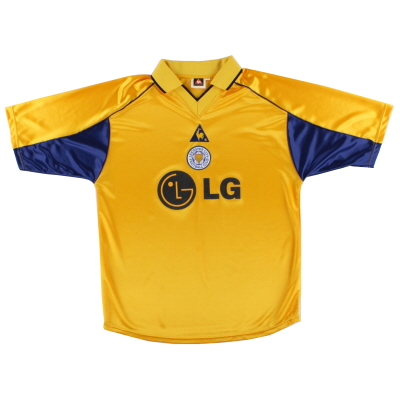2001-03 Leicester Third Shirt L