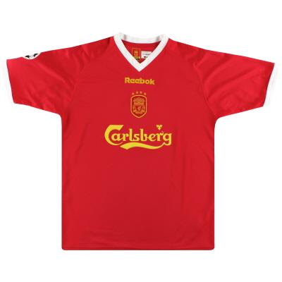2001-03 Liverpool Reebok European Shirt M