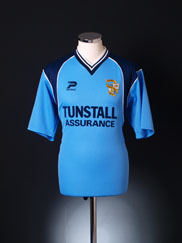 2001-03 Port Vale Away Shirt *Mint* S