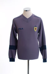 2001-03 Scotland Goalkeeper Shirt S