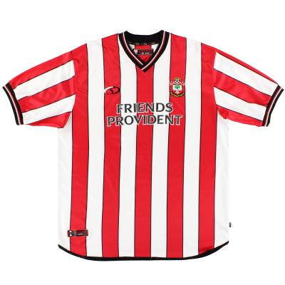 2001-03 Southampton Saints Home Shirt XXL