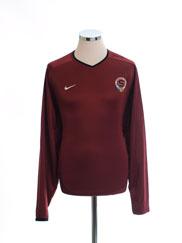2001-03 Sparta Prague Home Shirt L/S XL