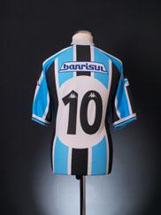 2001 Gremio Home Shirt #10 XL