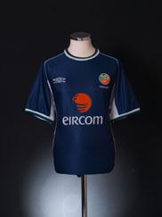 2001 Ireland Umbro Training Shirt M