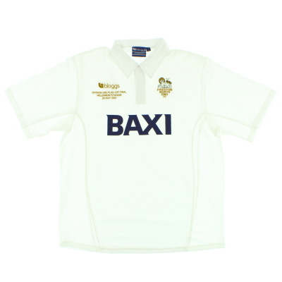 2001 Preston 'Play-Off Final' Home Shirt