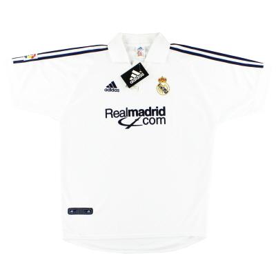 2001 Real Madrid adidas Training Shirt *w/tags* XL