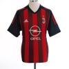 2002-03 AC Milan Home Shirt van Basten #9 *Mint* L