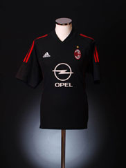 2002-03 AC Milan Third Shirt XL