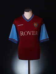 2002-03 Aston Villa Home Shirt XL