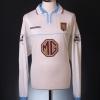2002-03 Aston Villa Match Issue Shirt Mellberg #4 L/S XL