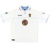 2002-03 Aston Villa Match Issue Away Shirt Alpay #5 XL